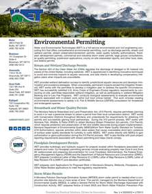 Free, Downloadable Literature Environmental Permitting